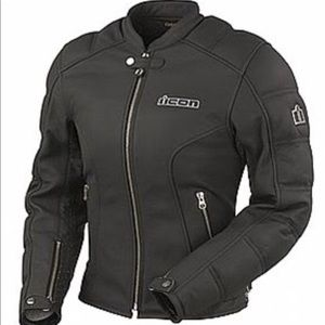 ICON Tuscadero Leather Jacket